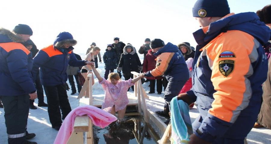 Правила безопасности при купании в крещенской купели