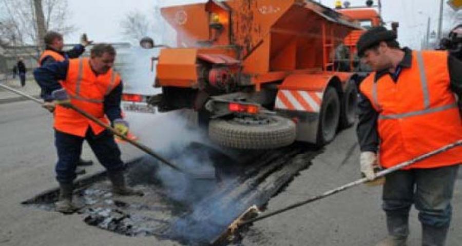 В Рубцовске начался ремонт дорог