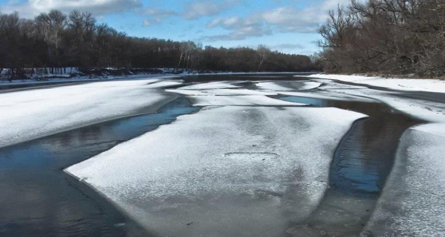 Внимание: весенний лед!